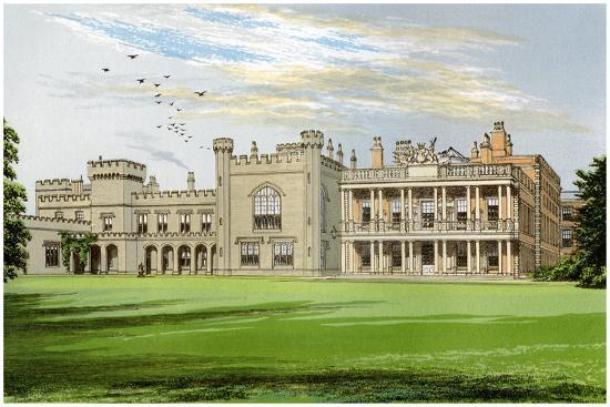 Knowsley Hall, Lancashire, Home of the Earl of Derby, C1880-AF Lydon-Giclee Print