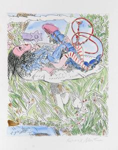 Alice in Wonderland by Knox Martin