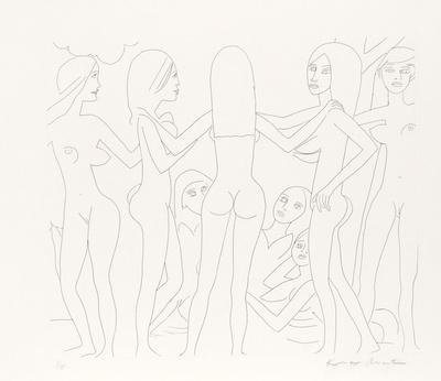 Dancing Nudes - III