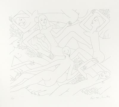 Dancing Nudes - VI