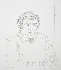 Norman Mailer by Knox Martin