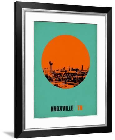 Knoxville Circle Poster 1-NaxArt-Framed Art Print