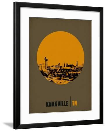 Knoxville Circle Poster 2-NaxArt-Framed Art Print