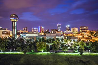 Knoxville, Tennessee, USA Downtown at World's Fair Park.-SeanPavonePhoto-Photographic Print