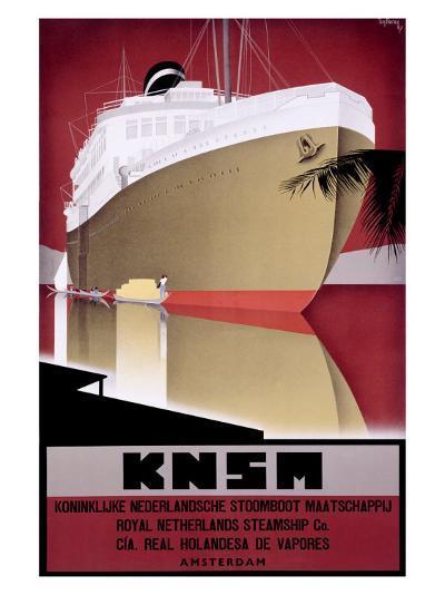 KNSM-Willem Ten Broek-Giclee Print