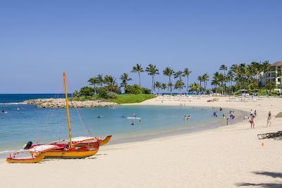 Ko Olina Beach, West Coast, Oahu, Hawaii, United States of America, Pacific-Michael DeFreitas-Photographic Print