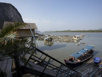 Ko Panyi, Muslim Fishing Village, Phang Nga, Thailand, Southeast Asia-Joern Simensen-Photographic Print