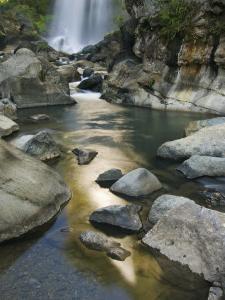 Bomod Waterfall, Banga-An, Near Sagada Town, the Cordillera Mountains, Luzon, Philippines by Kober Christian