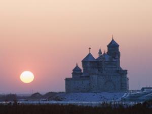 Ice Lantern Festival, Harbin, Heilongjiang Province, Northeast China, China by Kober Christian