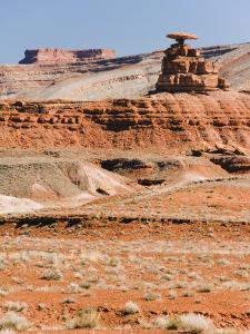 Mexican Hat Rock in Mexican Hat, Utah, United States of America, North America by Kober Christian
