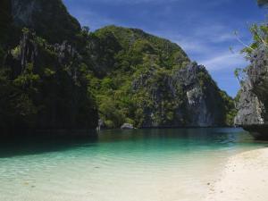 Miniloc Island, Big Lagoon, Bacuit Bay, El Nido Town, Palawan Province, Philippines, Southeast Asia by Kober Christian