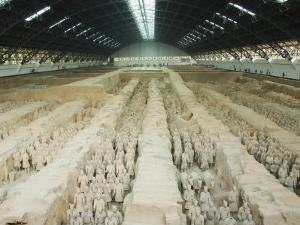 Museum of the Terracotta Warriors Opened in 1979 Near Xian City, Shaanxi Province, China by Kober Christian