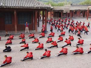 Shaolin Monastery, Shaolin, Birthplace of Kung Fu Martial Art, Henan Province, China by Kober Christian