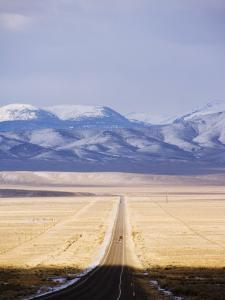 U.S. Route 50, the Loneliest Road in America, Nevada, USA by Kober Christian