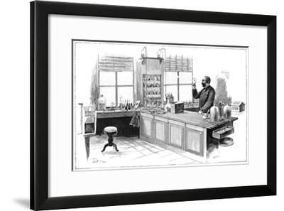 Koch And Tuberculosis, 19th Century-Science Photo Library-Framed Giclee Print