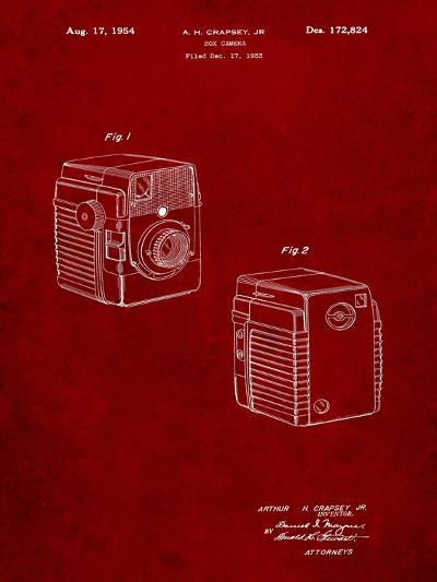 Kodak Brownie Bullseye 1954 Patent-Cole Borders-Art Print