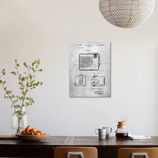 Kodak Brownie Hawkeye Patent Art Print by Cole Borders | Art com