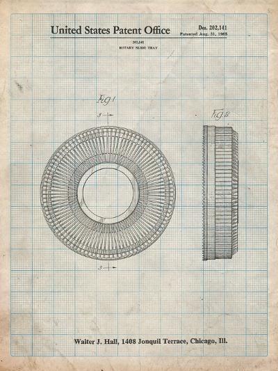 Kodak Carousel Patent-Cole Borders-Art Print
