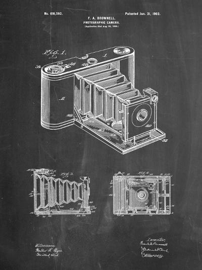 Kodak Pocket Folding Camera Patent-Cole Borders-Art Print