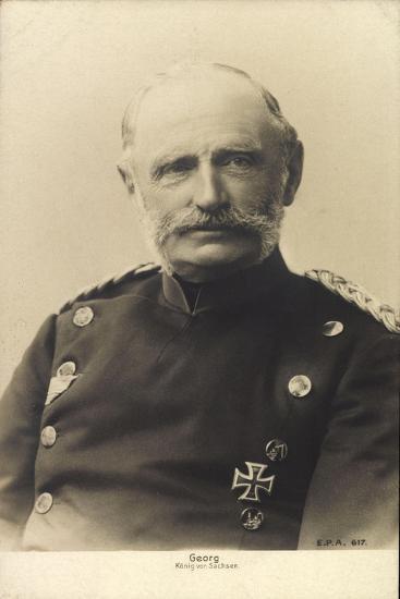 König Friedrich August Georg Von Sachsen--Giclee Print