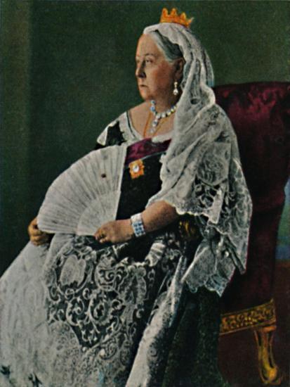 'Königin Viktoria von England 1819-1901', 1934-Unknown-Giclee Print