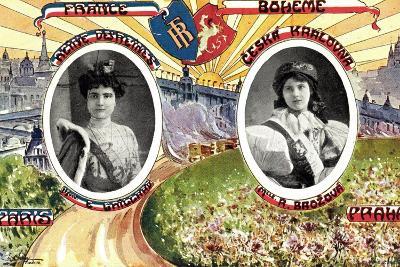 Königin Von Paris Und Von Prag, R. Brozova--Giclee Print