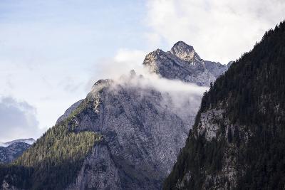 Königssee, Berchtesgaden NP, Bavaria, Germany: High Mts Surrounding The Famous Fjord-Lik Königssee-Axel Brunst-Photographic Print