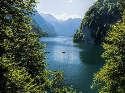 Koenigssee Lake Alpes Mountains Bavaria 6-Grab My Art-Art Print