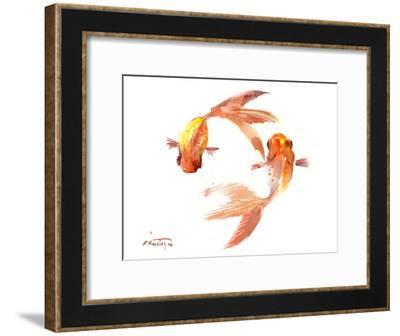 Koi Feng Shui-Suren Nersisyan-Framed Art Print