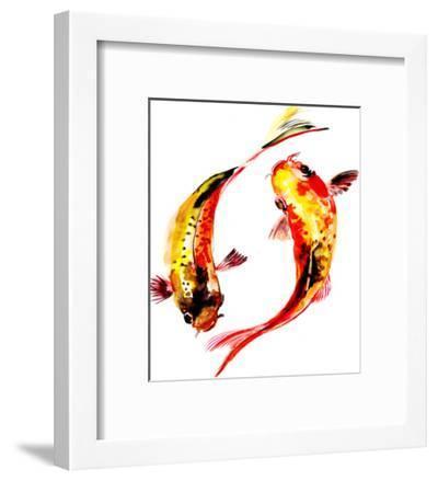 Koi Fish Feng Shui-Suren Nersisyan-Framed Art Print