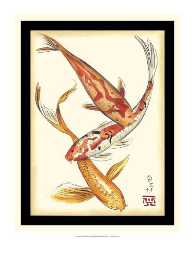 Koi Fish II-Chariklia Zarris-Art Print