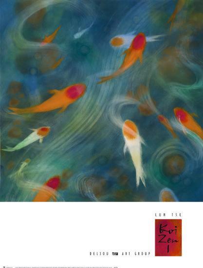 Koi Zen I-Lun Tse-Art Print