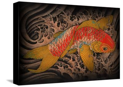Koi-Clark North-Stretched Canvas Print