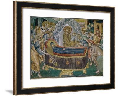 Koimesis in the Naos--Framed Giclee Print