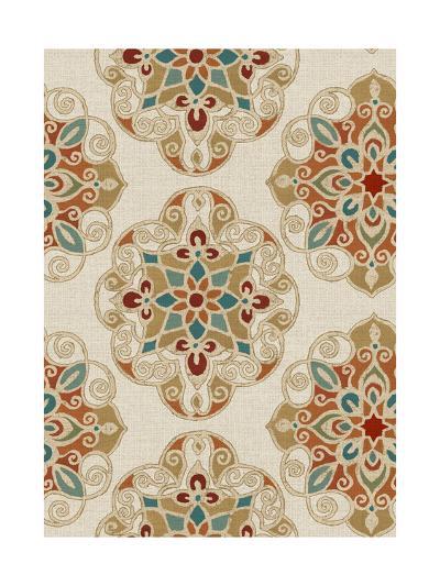 Kolam Pattern I-Daphne Brissonnet-Art Print