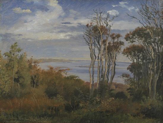 Kolås Wood. Vejrhøj, 1846-Johan Thomas Lundbye-Giclee Print
