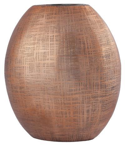Kolkata 10-Inch Vase In Copper--Home Accessories