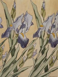 Iris, 1898 by Kolo Moser