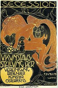 Exhibition Of United Austrian Secessionist Artists by Koloman Moser