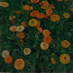 Marigolds, 1909 by Koloman Moser