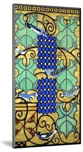 Part of the Original Maquette Design for Frieze on the High Altar of St. Leopold Am Steinhof, 1906 by Koloman Moser