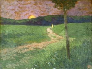 Summer Evening by Koloman Moser