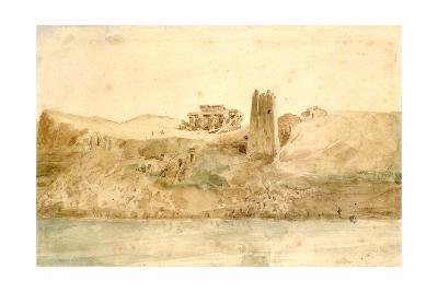 Kom Ombo, Egypt, 19th Century-Hector Horeau-Giclee Print