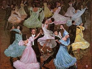 Ballroom Dancing, 1993 by Komi Chen