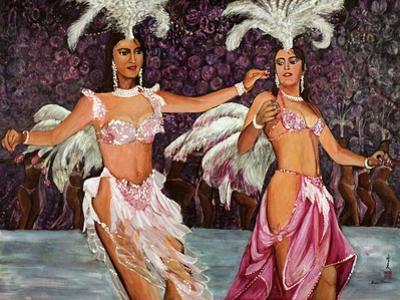 Belly Dancers, 1987 by Komi Chen