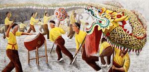 Dragon Festival, 1996 by Komi Chen