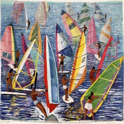 Smooth Sailing, 1992 by Komi Chen