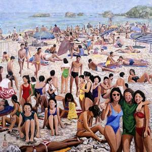 Sun Bathing, 1987 by Komi Chen