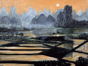 The Setting Sun, 1996 by Komi Chen