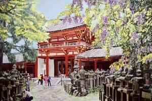 When Wisterias Blossom, 1989 by Komi Chen